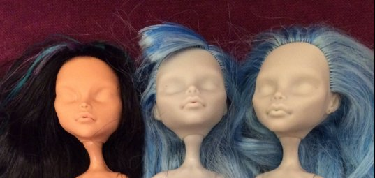 Bratz dolls before makeunder