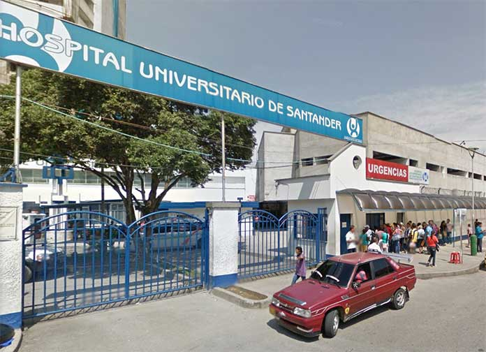 Hospital Universitario de Santander in Bucaramanga, Colombia