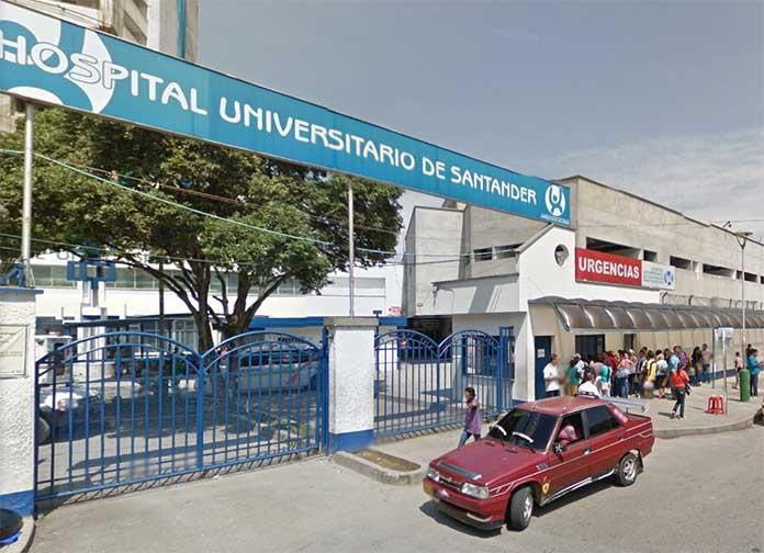 Hospital Universitario de Santander in Bucaramanga, Colombia