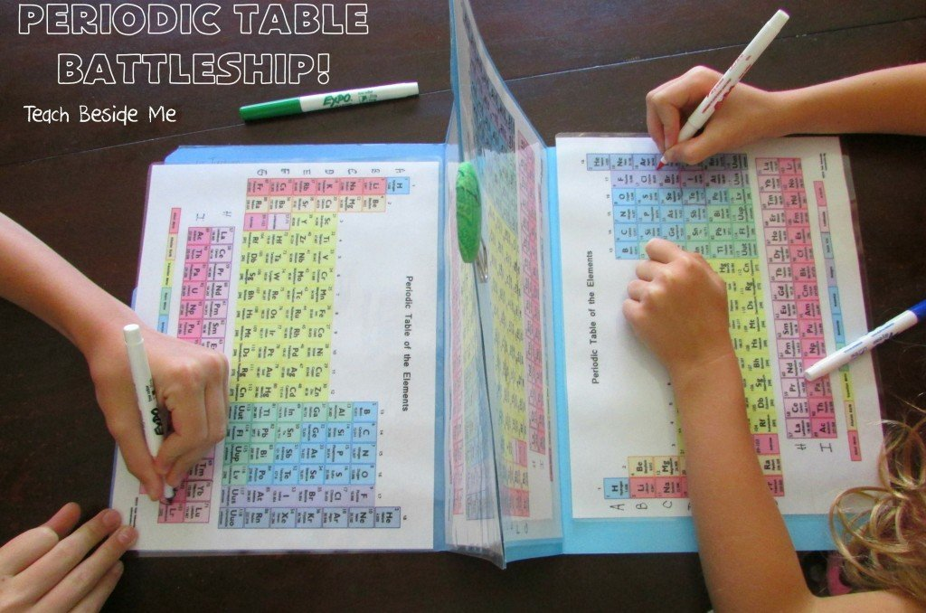 Periodic Table Battleship makes learning Chemistry fun again. (Photo: teachbesideme.com)