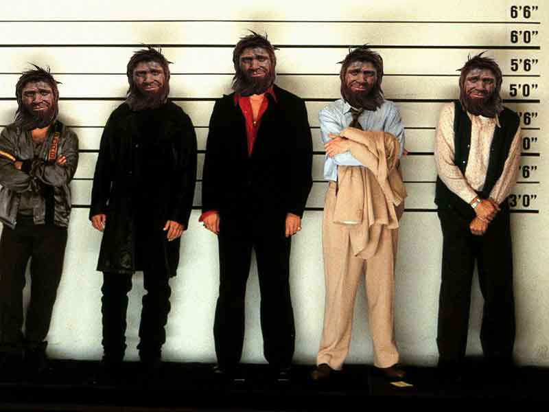 The Unusual Suspects. Who killed Oetzi the Iceman?