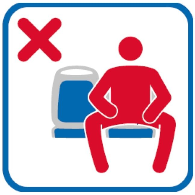 Fancy a spot of manspreading? Forbidden on Madrid buses . Trains however ...