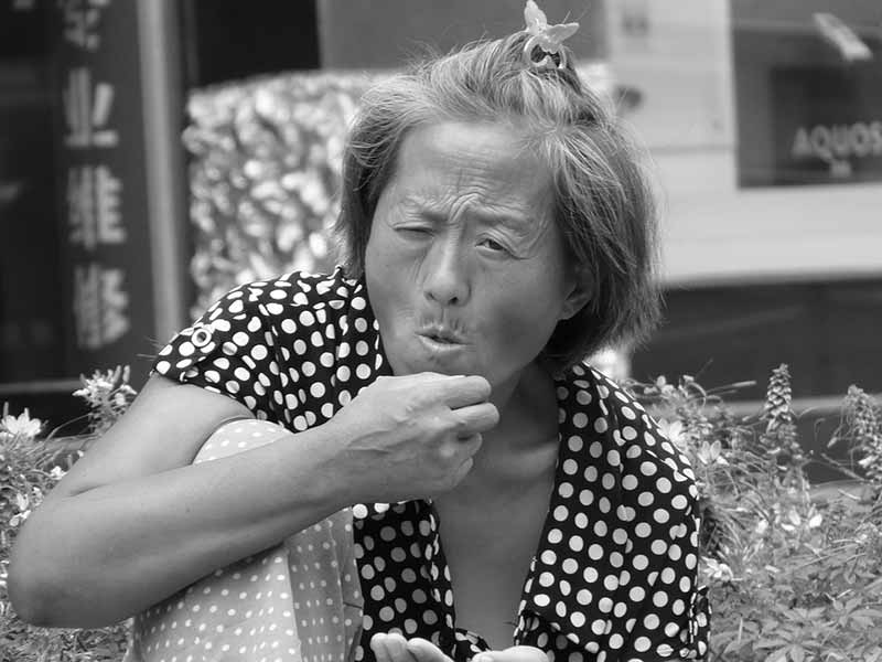 You talkin' to me? Over a dozen members of a granny debt collection racket have been jailed in Henan province, China. (Photo: Pixabay/Mikelmania)