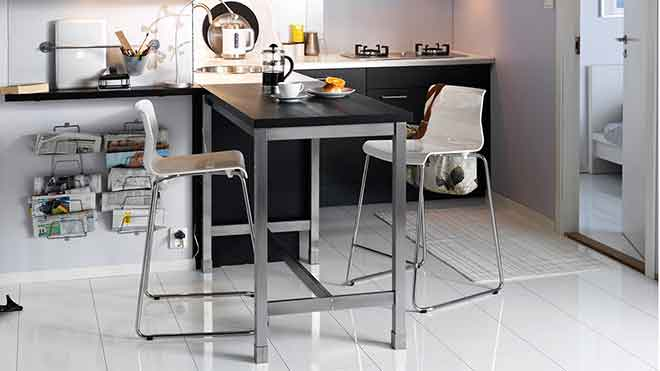 IKEA names - The Utby bar table got its name from a small village in West Sweden (Photo: IKEA)