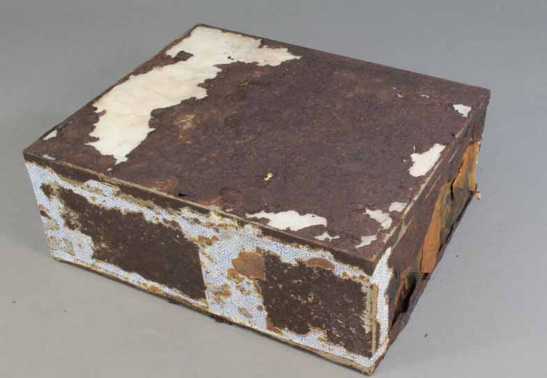 A 106 year-old fruitcake has been found in a man cave in Antarctica. Get the kettle on it's time for elevenses! (Photo: Antarctic Heritage Trust)