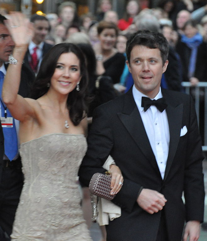 Frederik, Crown Prince of Denmark and his wife Mary, Crown Princess of Denmark (Photo: Wikimedia/Holger Motzkau)