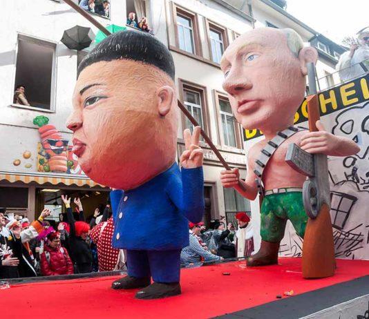 Kim Jong Un at the 2016 Rosenmontag parade. (Photo: Wikimedia/Marco Verch)