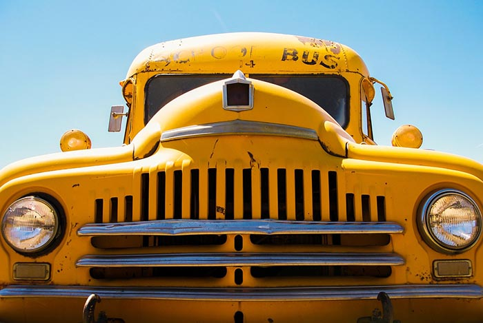 Chicken buses are repurposed school buses bought at auction when a bus is typically 10 years old or has clocked up 150,000 miles (Photo: Pixabay/nil2hoff)