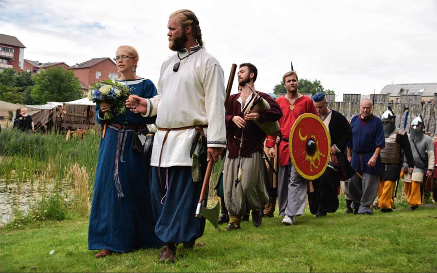 The Ultimate Guide to a Viking Wedding  OddFeed