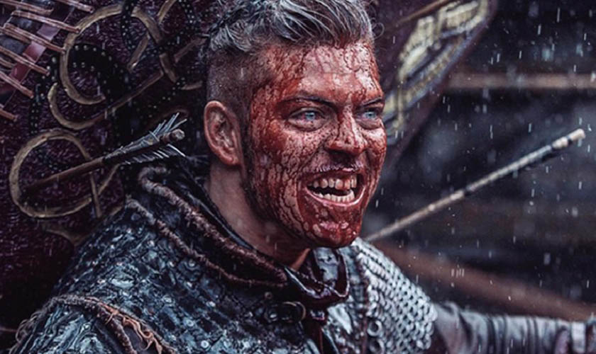 Danish actor Alex Høgh Andersen played the part of Ivar the Boneless in the historical drama televsion series Vikings. (Photo: Vikings Wiki | Fandom)