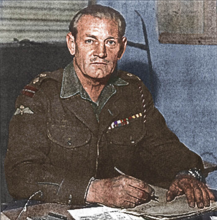 In 1940, Jack would earn his nickname at the Battle of L'Epinette. Hiding in a tower, Jack launched raised his longbow and shot an approaching enemy officer. (Photo: Cassowary Colorizations/ CC BY 2.0)