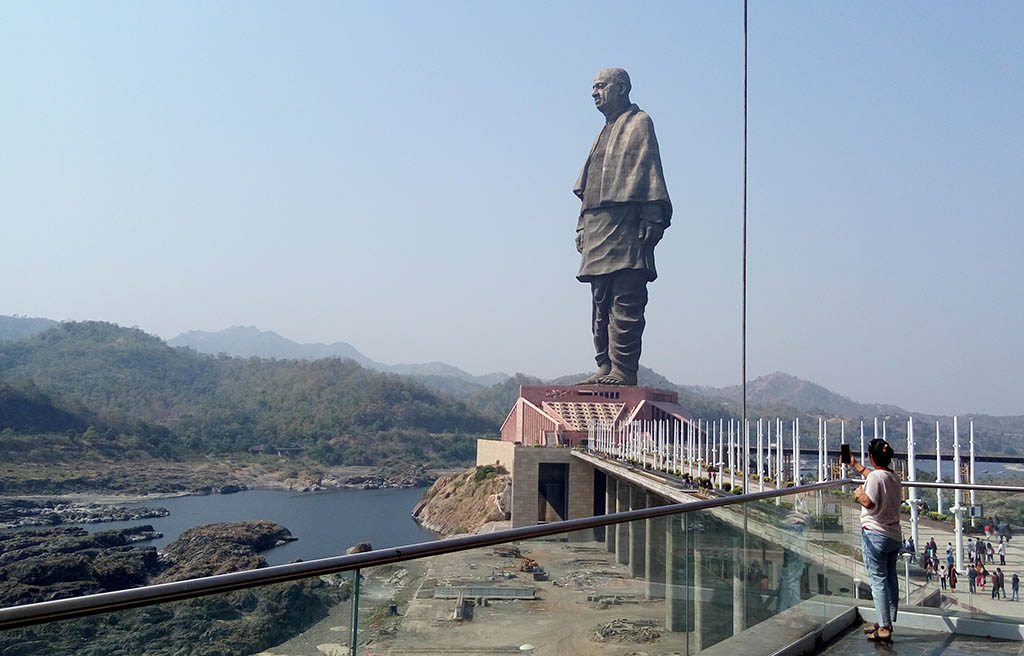 The Statue of Unity took 57 months to build and was completed in October 2018. (Photo: Pexels/Paresh Pancholi)