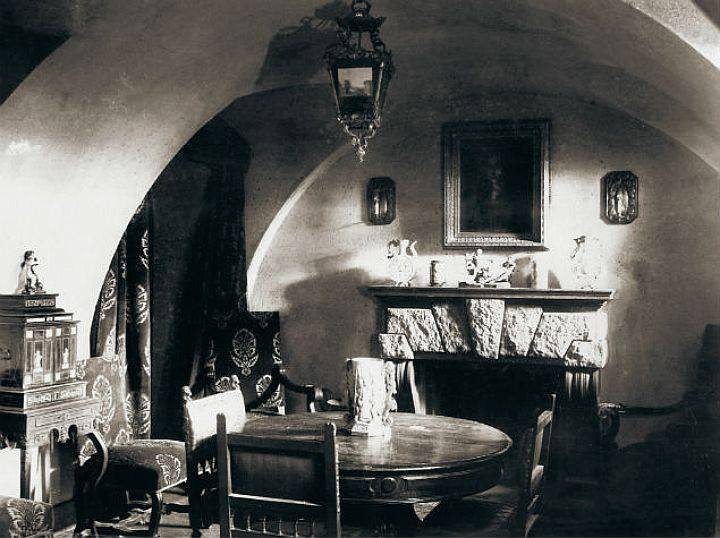 Basement of the Yusupov Palace on the Moika in St. Petersburg where Rasputin was murdered (Photo: Wikimedia/Unknown source)