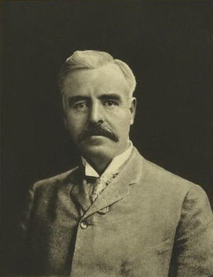 James Edward Sullivan, founder of the Amateur Athletic Union and Chief Organizer of the 1904 Summer Olympics. Sullivan allowed only one water station during the marathon in order to conduct research on