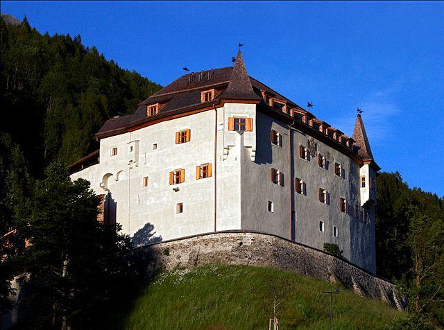 Lengberg Castle, in East Tyrol, Austria. (Photo: Wikimedia/Wolfgang Retter)