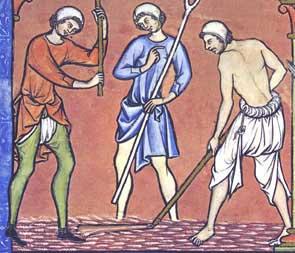 Medieval braies. (Image: Wikimedia/medievaltymes.com)