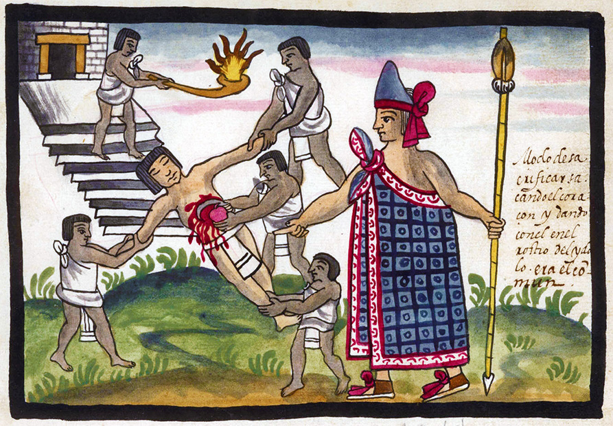 The Aztec death whistle was found in the hands of a sacrificed victim excavated at the temple of Tlatelolco in the 1990s, lending evidence to the claim that the whistle was used for the ritual of sacrifice. (Photo: Wikimedia Commons/latinamericanstudies.org)