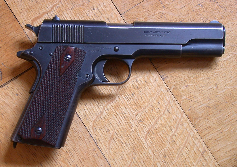 A modified Colt 1911 like this one was used to make the CIA's