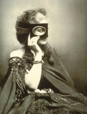The Countess of Castiglione photographed by Pierre-Louise Pierson circa 1863-66. (Photo: Wikimedia)