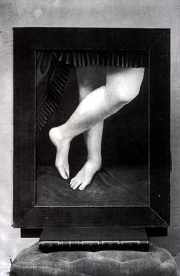 The legs of Virginia Oldoini, Countess di Castiglione (1837−1899), by Pierre-Louis Pierson, c1861/67 (Photo: Wikimedia)