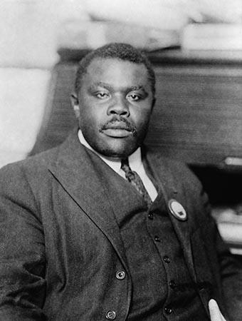 Marcus Garvey, Jamaican Black Nationalist and Separatist, ca. 1920. In August 1920, his 'Universal Negro Improvement Association,' , claimed 4 million members. (Photo: Shutterstock)