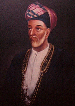 Said Bin Sultan of Muscat, Oman and Zanzibar. He was the last ruler of the united Omani Empire and passed away in 1856. (Image: Wikimedia)