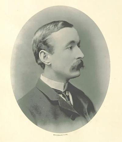 James Jameson, grandson, and heir of Jameson Irish whiskey magnate John Jameson. (Image: British Library)