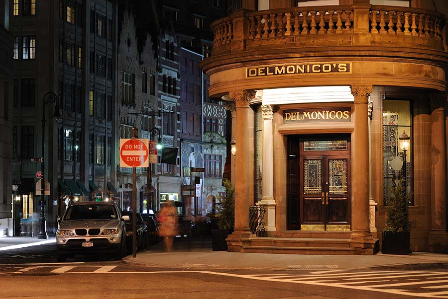 The famous Delmonico's restaurant in New York hosted the first public meeting of the Sorosis women's club in April 1868. (Photo: Shutterstock)