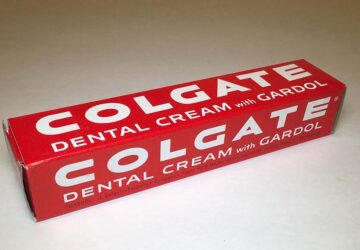 When was toothpaste invented?