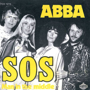 The front cover for the single SOS by Swedish pop group ABBA. (Photo: Wikimedia/Collard)